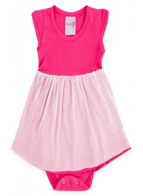 body pink tule piradinhos