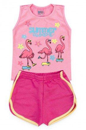 conjunto regata flamingo piradinhos