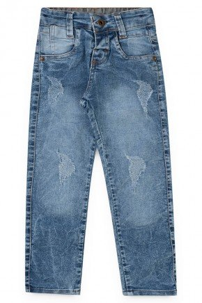 menino jeans lavagem claro piradinhos 055