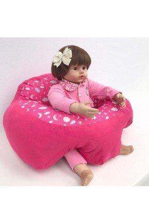 suporte bebe rosa ceu piradinhos
