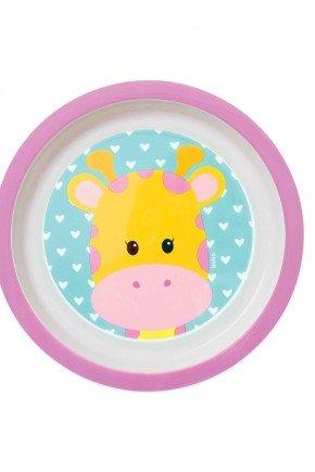 prato rosa girafa piradinhos