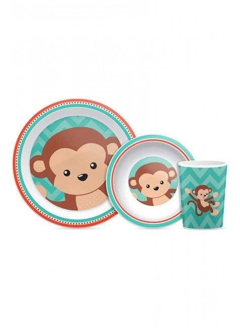 prato macaco piradinhos kit
