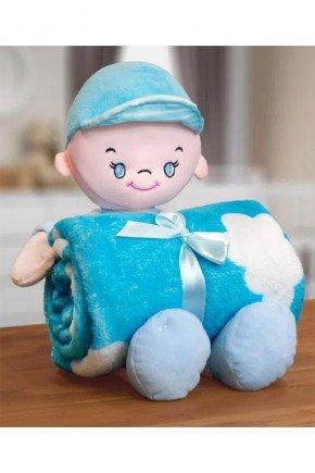 boneco azul piradinhos