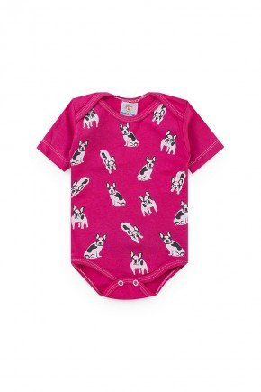 body pink cachorro piradinhos