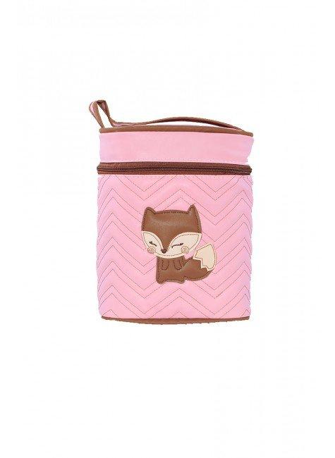 frasqueira rosa raposa piradinhos