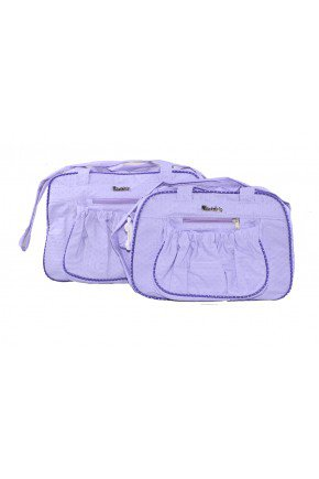 kit bolsa lilas piradinhos