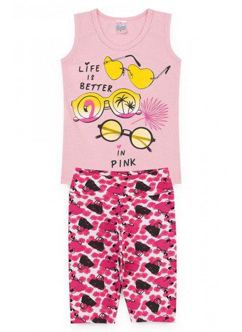 conjunto rosa praia piradinhos