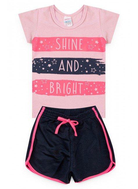 conjunto rosa shine piradinhos