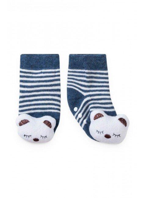 meia urso gato marinho listrado piradinhos bebe inverno infantil