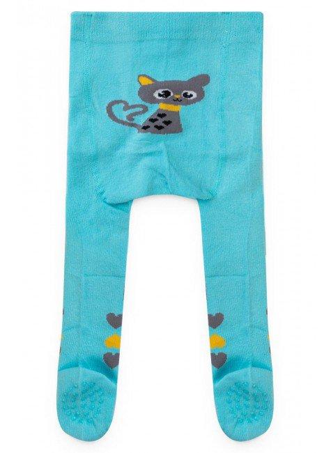 meia azul gato piradinhos inverno calca