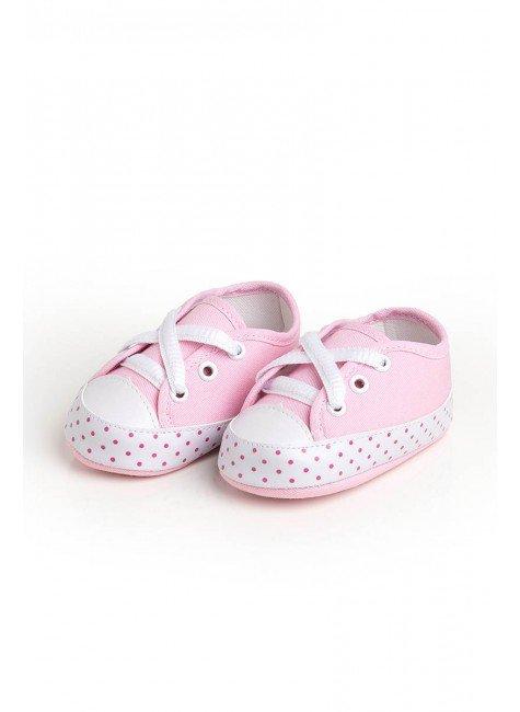 tenis poa pink rosa piradinhos menina
