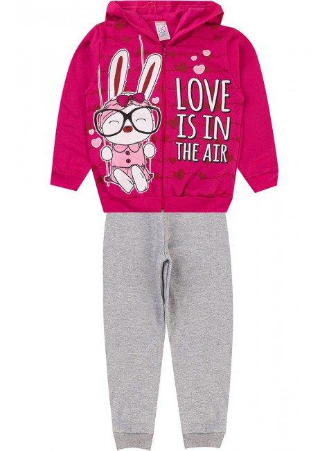 conjunto pink coelho menina piradinhos