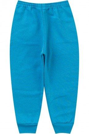 calca piradinhos inverno infantil moletom azul
