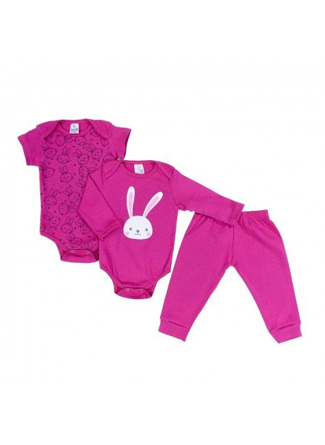 kit body pink piradinhos