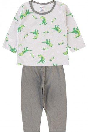 pijama menino infantil piradinhos inverno branco