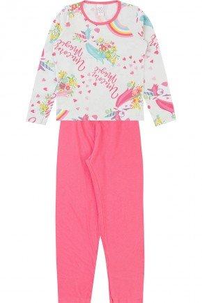 conjunto pijama piradinhos inverno menina verde