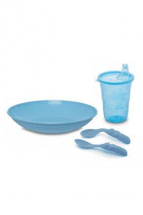 kit refeicao divisoria piradinhos azul
