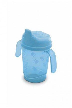 copo azul piradinhos