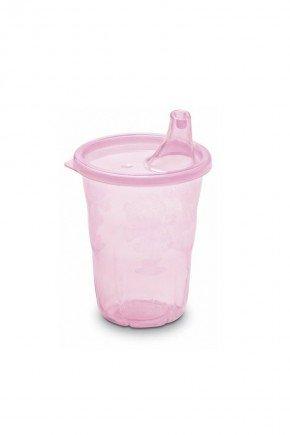 copo rosa piradinhos menina infantil