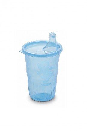copo azul piradinhos bebe infantil