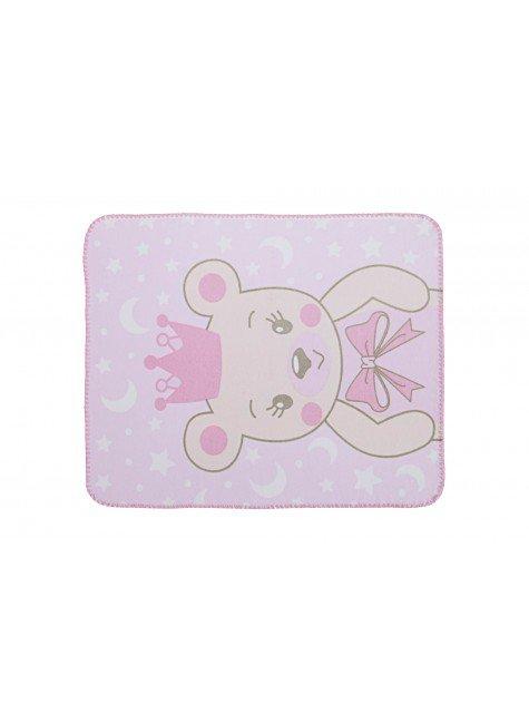 02050500010006 Cobertor Estampada Localizada Ursa princesa