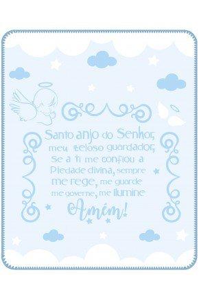 05000500010001 Cobertor estampa localizada Caixa Azul