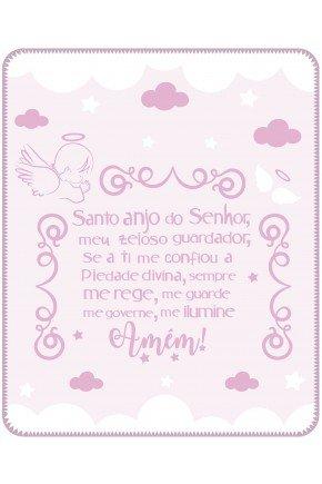 05000500010002 Cobertor Estampa Localizada Caixa Rosa