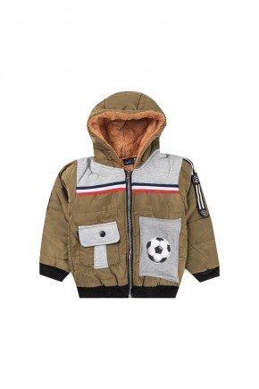 jaqueta infantil inverno piradinhos bola