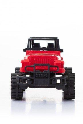 jeep vermelho piradinhos carro infantil brinquedo