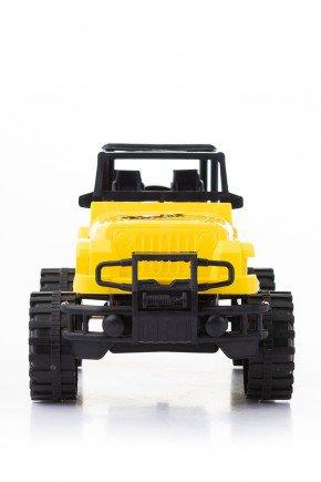 jeep amarelo piradinhos carro infantil brinquedo