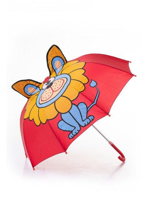 gurada chuva vermelho infantil piradinhos infantil gato