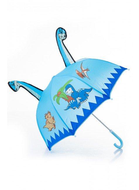 guarda chuva infantil azul piradinhos praia menino