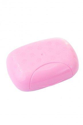 saboneteira rosa bebe piradinhos adoleta