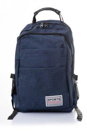 mochila sports piradinhos escolar marinho