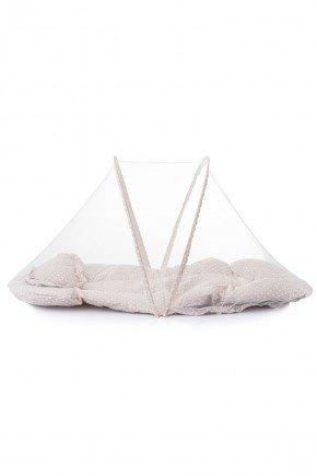 mosquiteira conforto portatil bebe piradinhos caqui