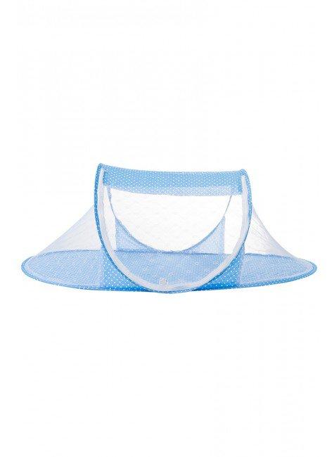 mosquiteira portatil bebe piradinhos azul