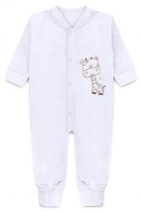 macacao bordado branco piradinhos bebe