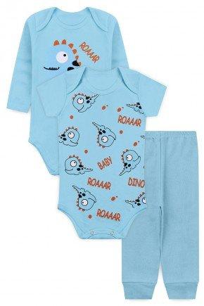 kit menino dino piradinhos inverno azul bebe