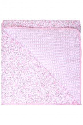 edrodom rosa flor piradinhos menina inverno bebe