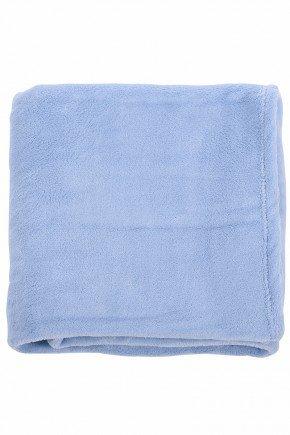 manta microfibra azul bebe infantil