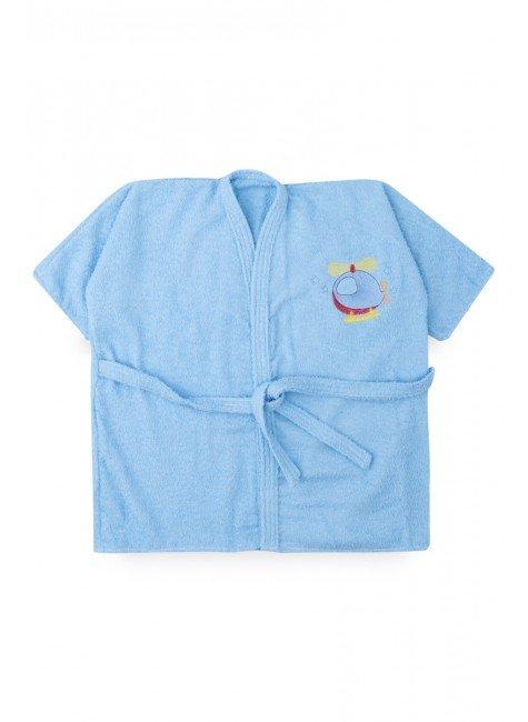 roupao azul aviao piradinhos infantil menino
