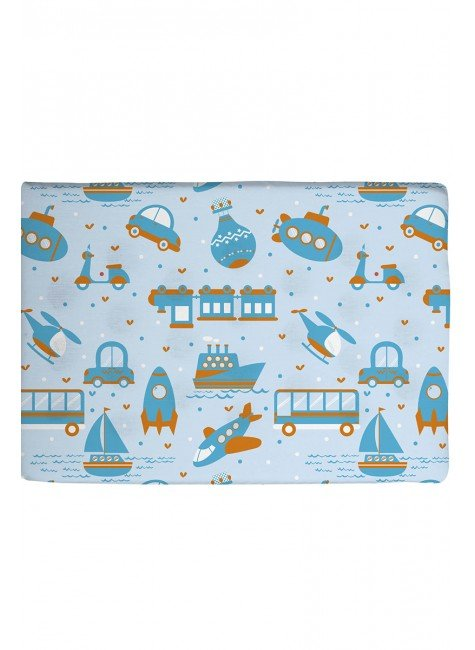 03003502010006 travesseiro piradinhos carro azul infantil bebe