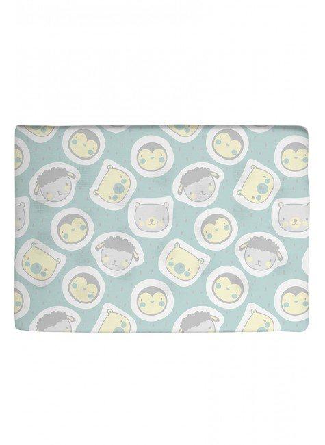03003502010008 travesseiro infantil bebe urso verde piradinhos