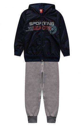 conjunto sporting marinho piradinhos infantil menino