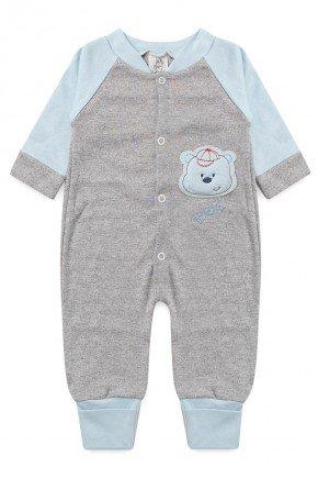 body bebe infantil manga longa algodao piradinhos sophi inverno urso