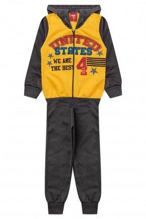 conjunto inverno infantil menino piradinhos amarelo chumbo united states