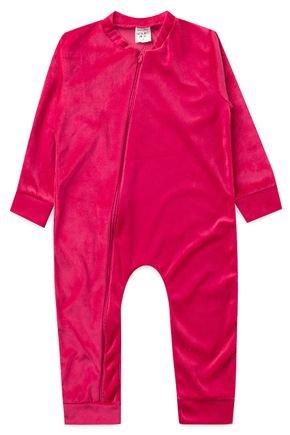 macacao piradinhos pink bebe infantil menina plush inverno
